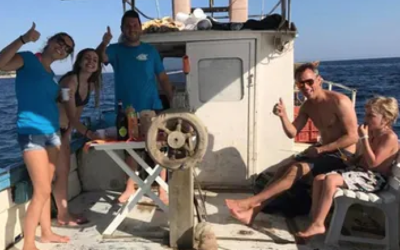 Escursione Pescaturismo mattina con aperitivo e snorkeling